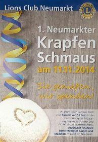 1. Neumarkter Krapfen-Schmaus